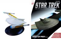 Star Trek The Official Starships Collection #57 Romulan Bird-of-Prey (2260s)